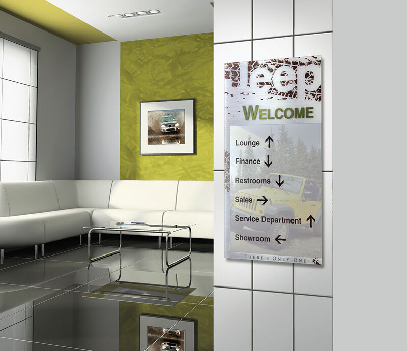 Signage design architectural graphics takeform for Interior design signs