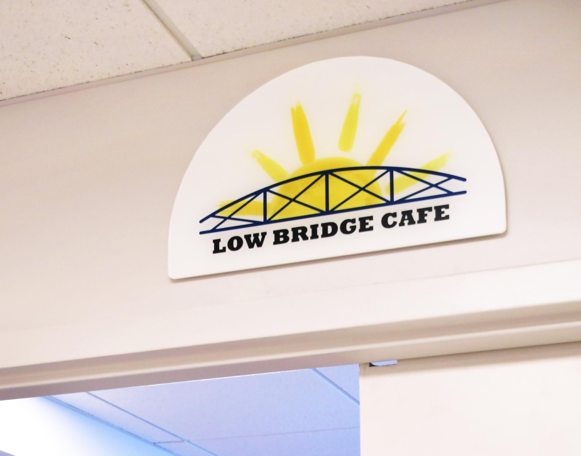 The lowbridge cafe sign