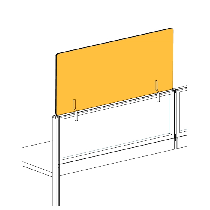 Line drawing of panel stacker