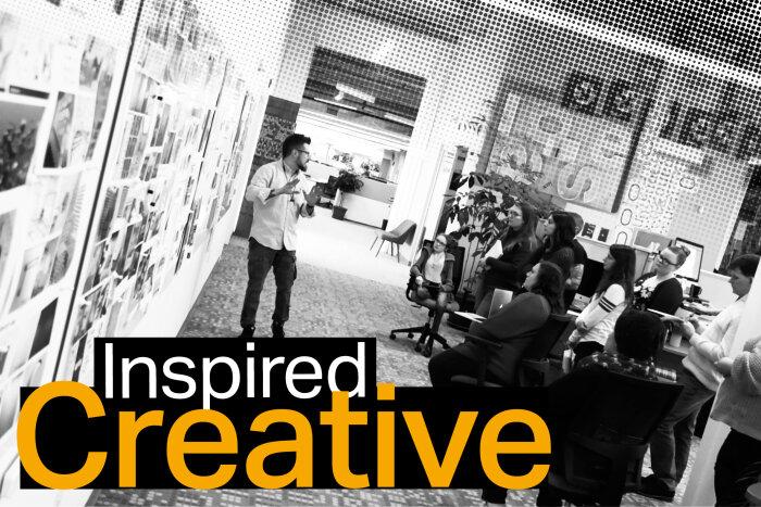 Takeform design team collaborating on the 2021 Takeform showroom design