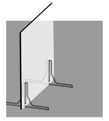 Freestanding desktop partition rendering