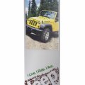 Vivid Interior Freestanding Signage Corporate Logo Photo Photograph direct print wayfinding Jeep