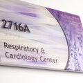 Vivid interior Signage room ID wayfinding healthcare hospital ada compliant Jhane Barnes