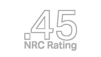 .45 NRC rating icon