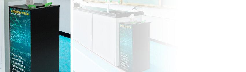 Cleaning Station Custom Artwork