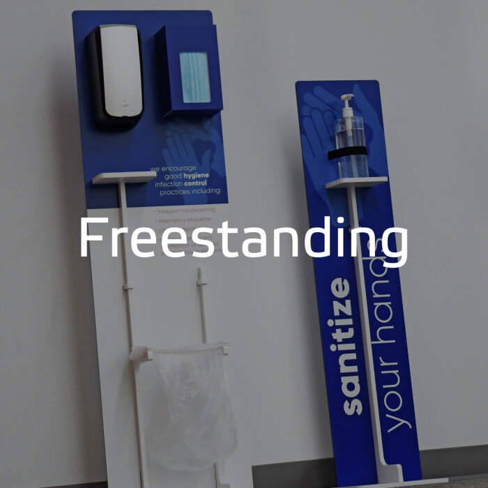 Freestanding PPE by Takeform