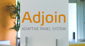 Video demonstrating tool-free 15-second installation of Takeform's Adjoin panel stackers for workstations
