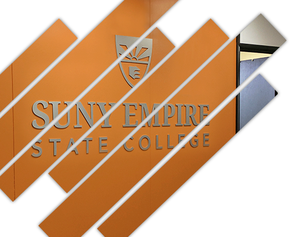 Dimensional logo for State College