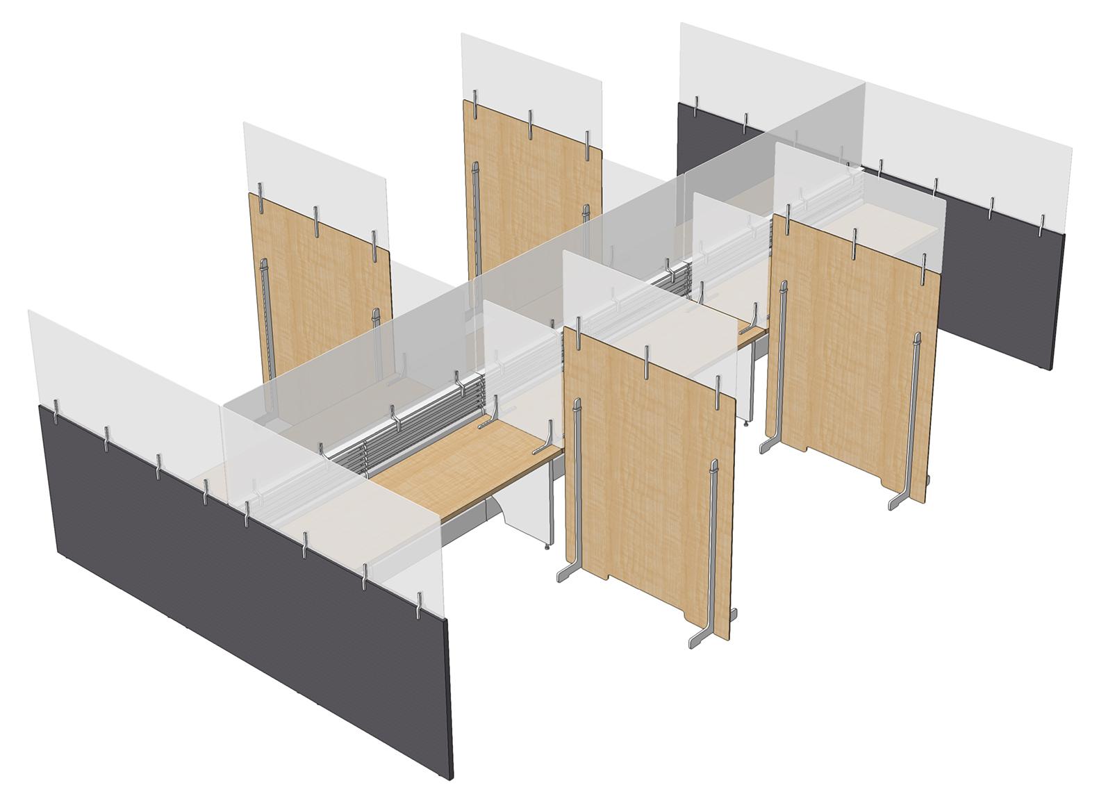 Freestanding Workstation