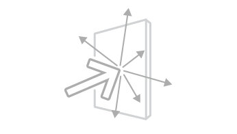 Acoustic diffusion icon