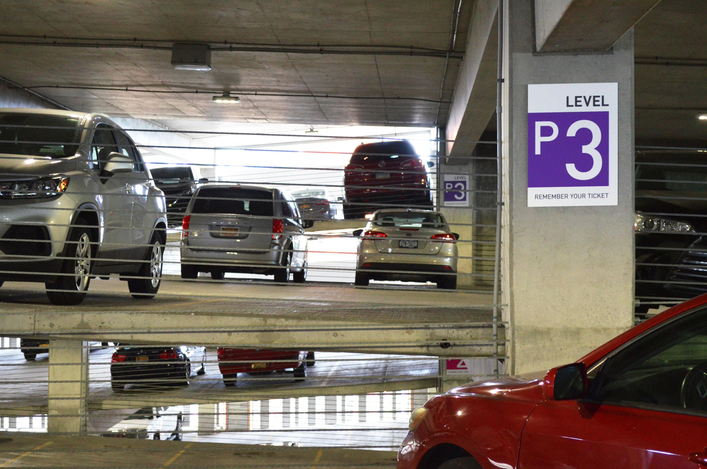 Photo of parking garage