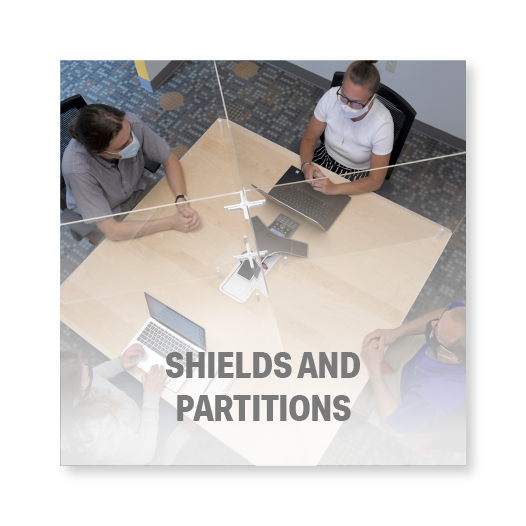 Shields and Partitions