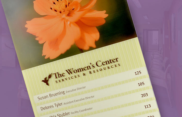 Women's care center sign