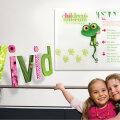 Vivid Interior Signage Directory Childrens Museum Branding Logo