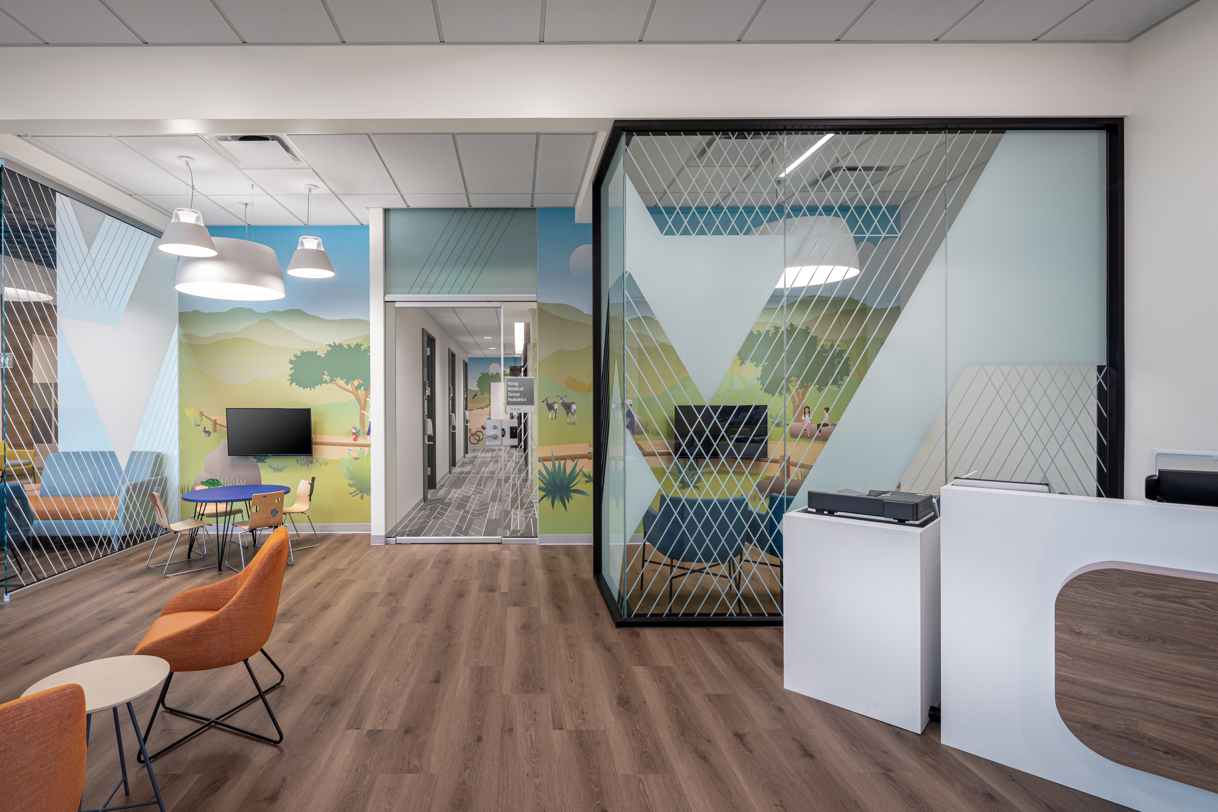 Photo of Amplify window film at Foothill Ranch Health Center