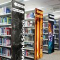 Moxie Graphic Panels Library Stacks Artwork Directory Signage