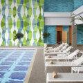 Amplify Window Film Wallcovering Hotel Pool Gym Workout Office Hospital Physical Therapy Healthcare
