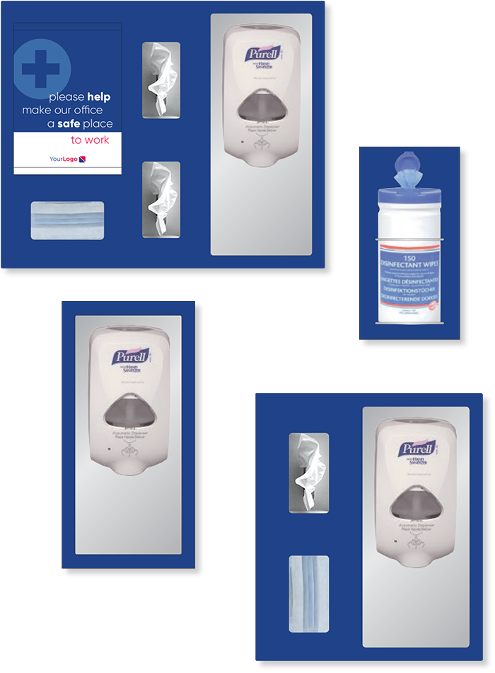 Sanitizer station image