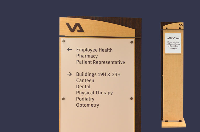 VA Hospital Sign System