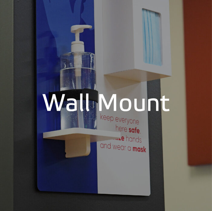 Wallmountde PPE by Takeform