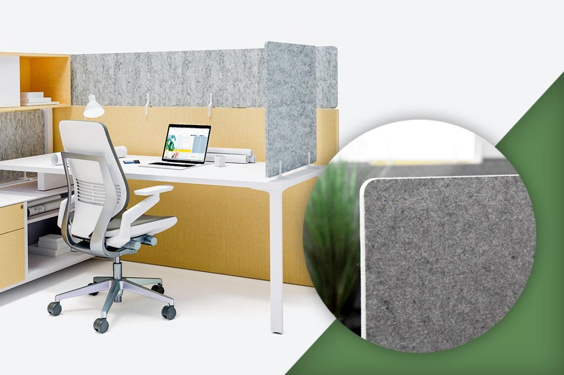 Oomph Acoustic Workstation Panel Stackers