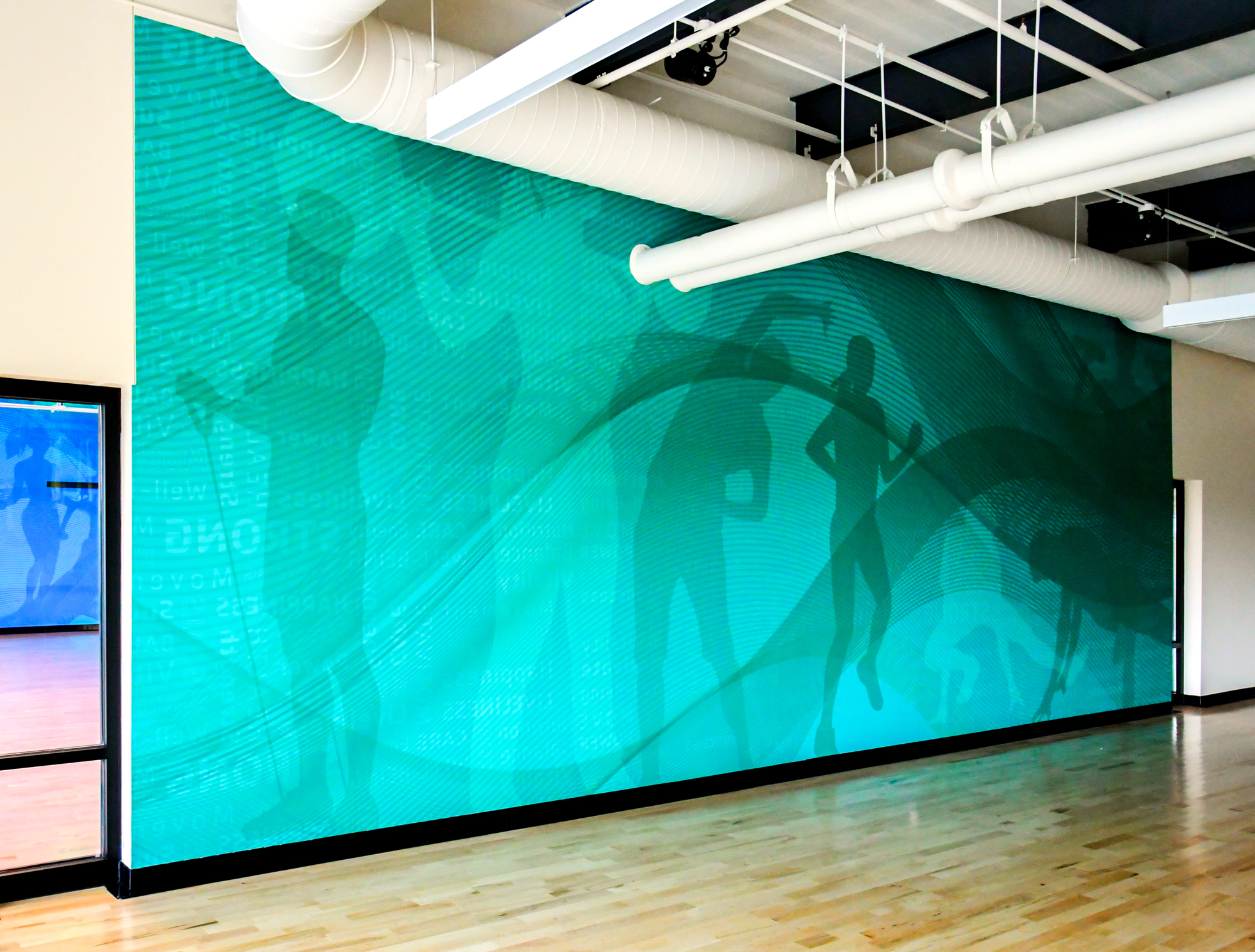 Amplify panels throughout YMCA