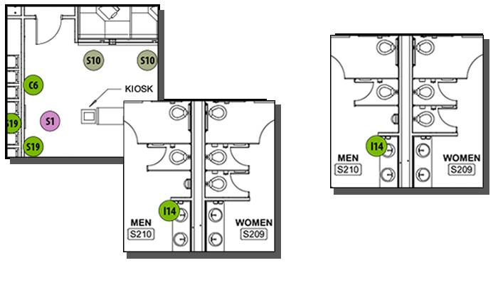 Planning map squares