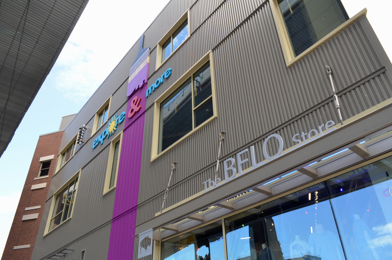 Belo Store sign