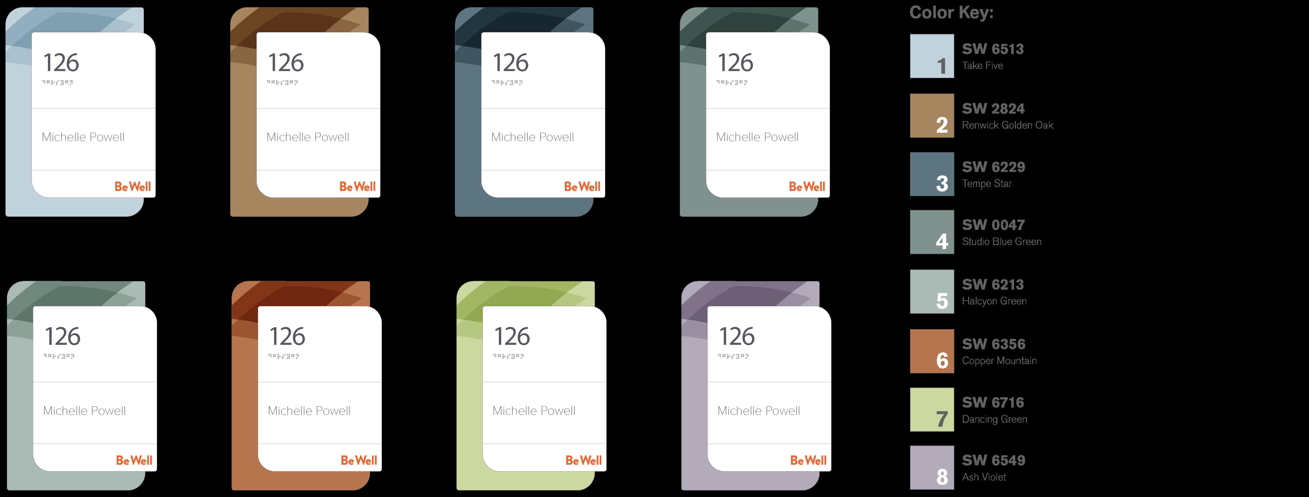 Suite ID renderings