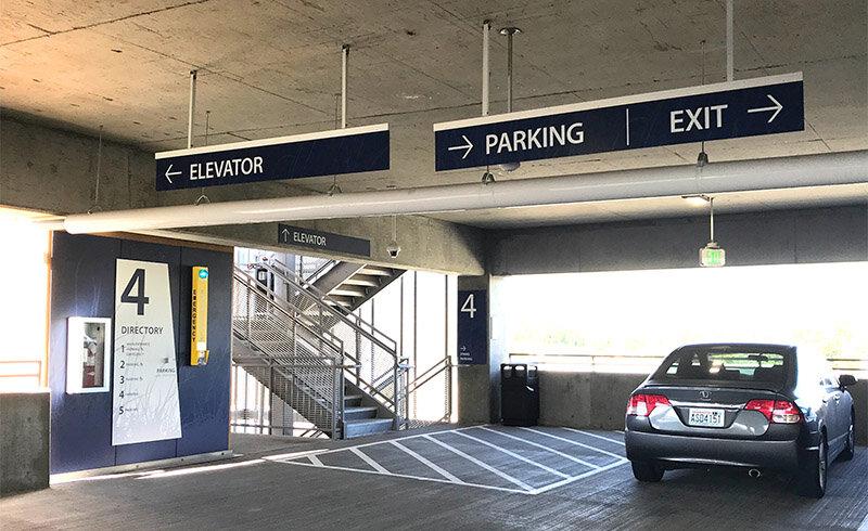 Kadlec Parking Garage in Washington State