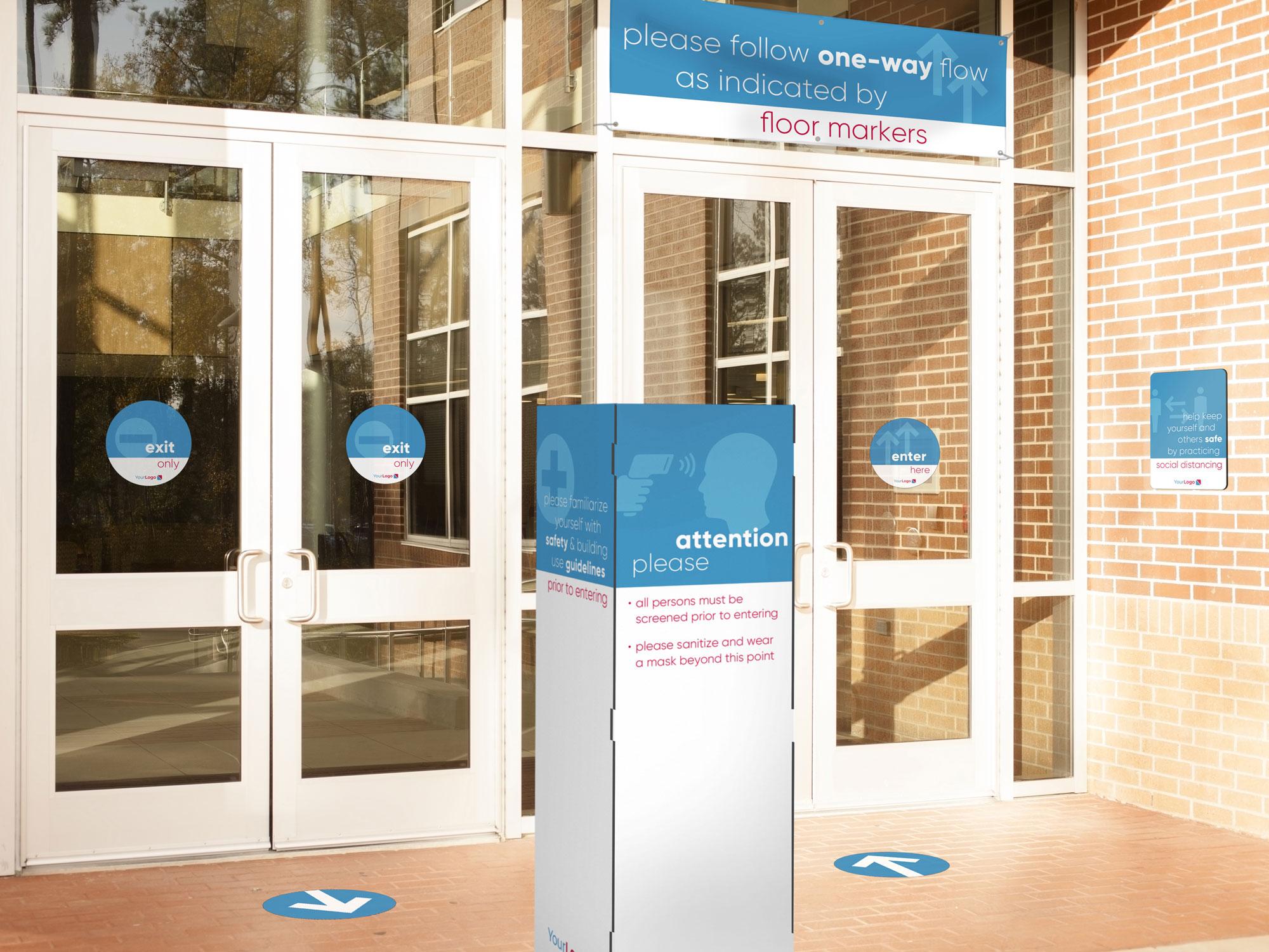 Exterior Return signage system