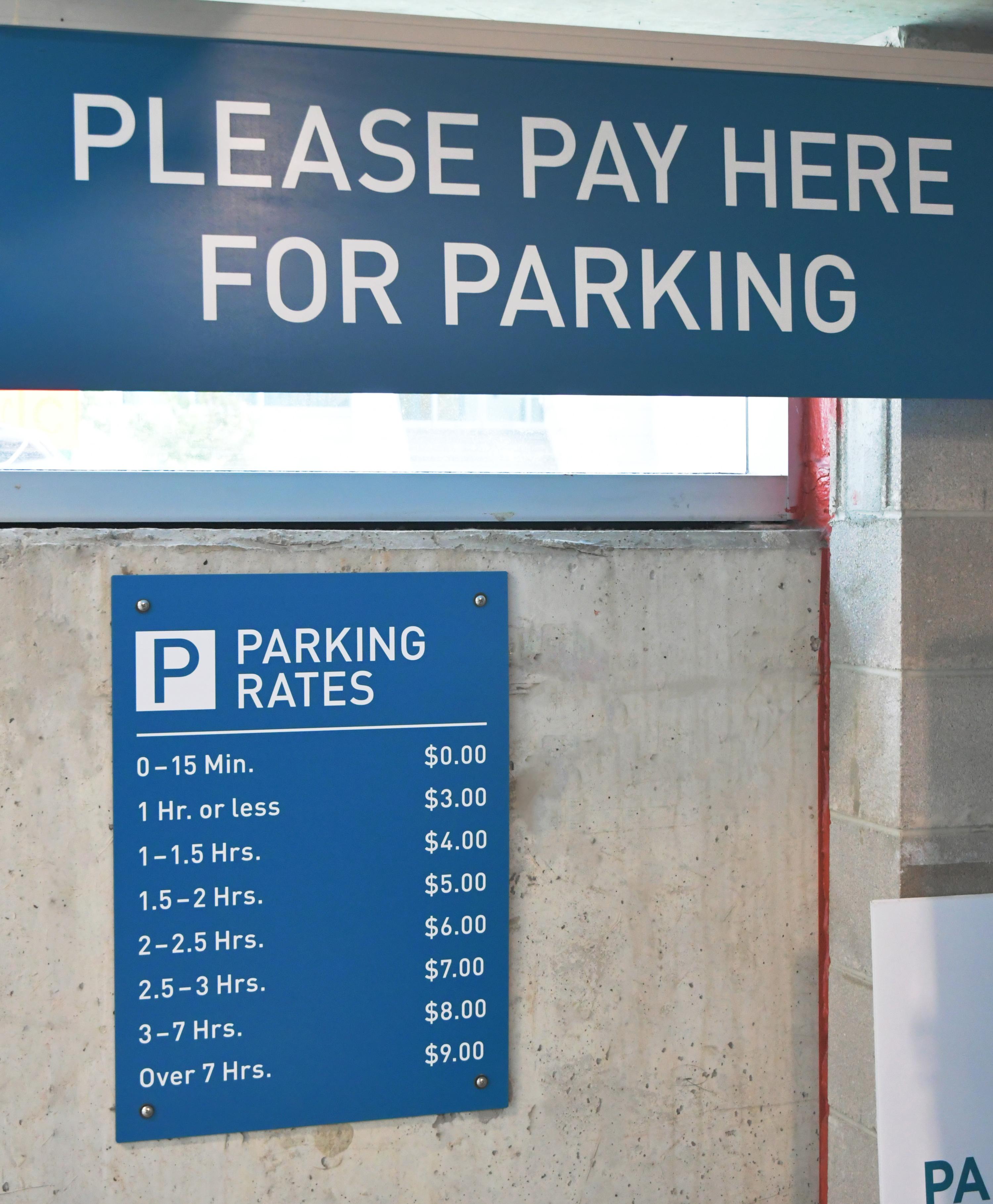 Photo of Moxie panel Transit signs