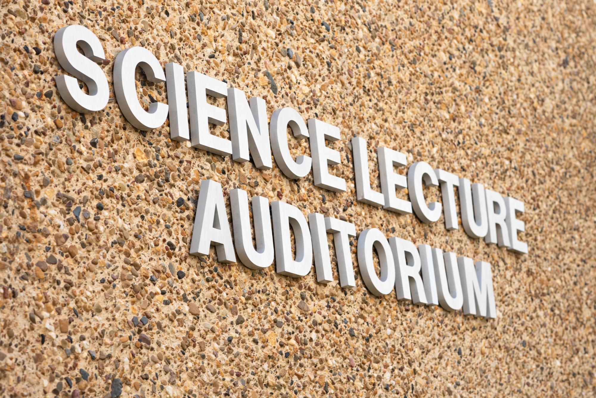 Ethos lettering at LSUS