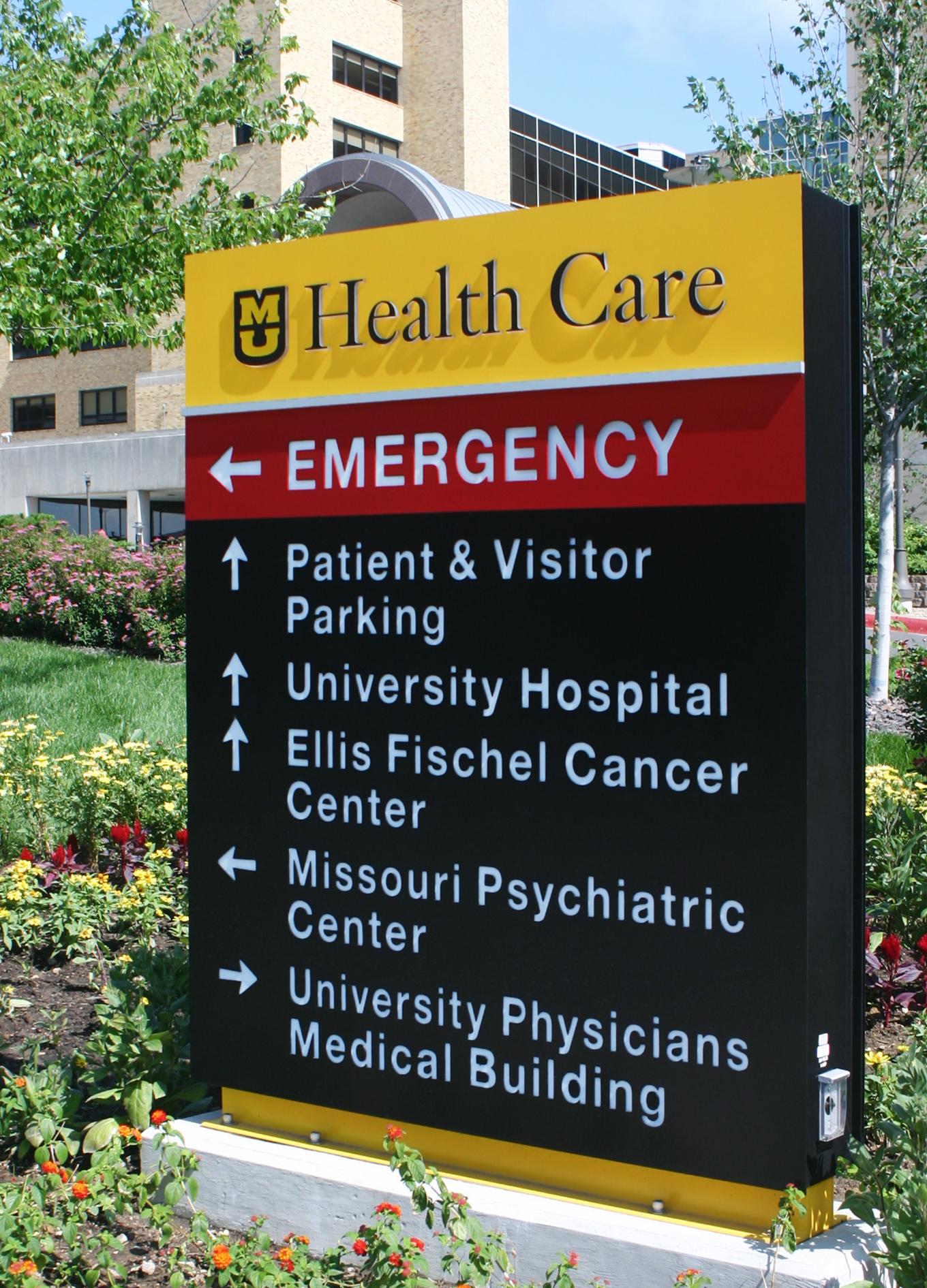Signify signage at University of Missouri