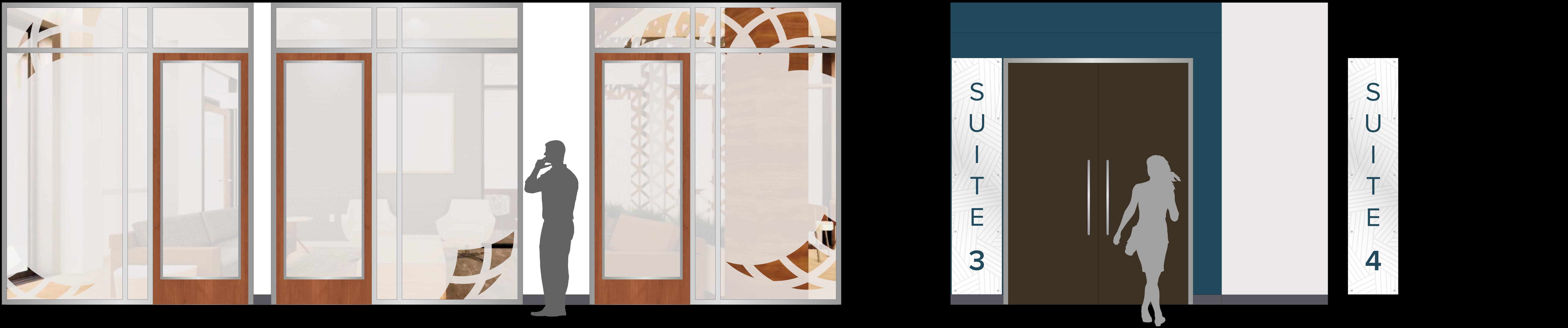Window film renderings