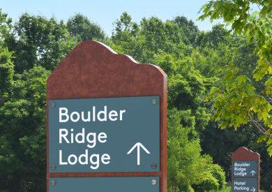 Photo of Signify signage at Liberty Mountain Resort