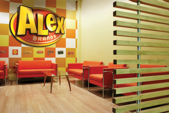 dimensional logo from moxie panels