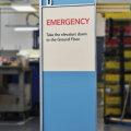Vivid Freestanding interior signage wayfinding hospital healthcare